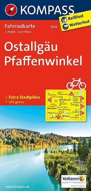 Ostallgäu - Pfaffenwinkel 1 : 70 000