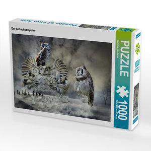 CALVENDO Puzzle Der Schachcomputer 1000 Teile Lege-Größe 64 x 48