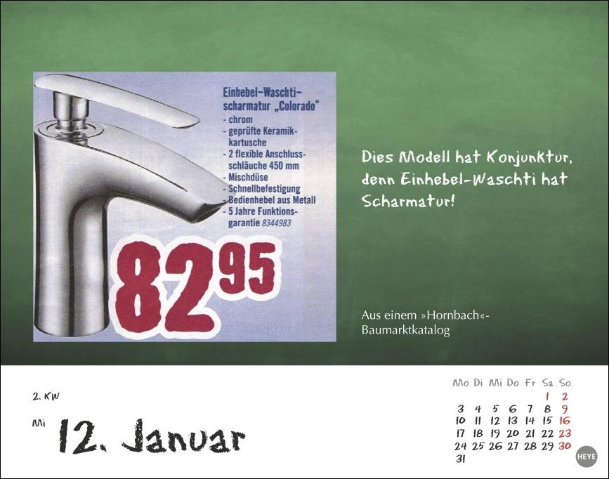 Bastian Sick Tagesabreißkalender 2022