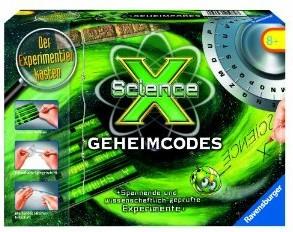 Ravensburger 18793 - ScienceX®: Geheimcodes