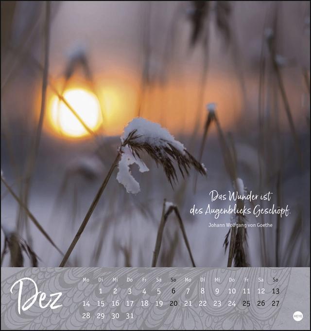 Ich wünsch\' dir ... ein Jahr voll Harmonie Postkartenkalender K