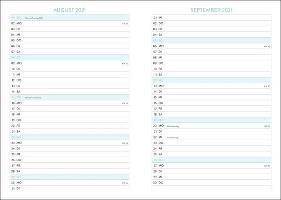 Palmen Schüler-/Studentenkalender A5  - 2022
