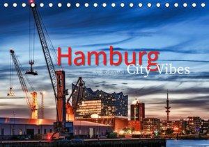 Hamburg City Vibes (Tischkalender 2021 DIN A5 quer)