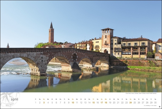 Italien Globetrotter Kalender 2022