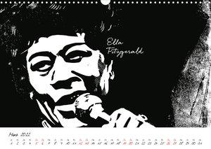 Lino Jazz (Wandkalender 2022 DIN A3 quer)
