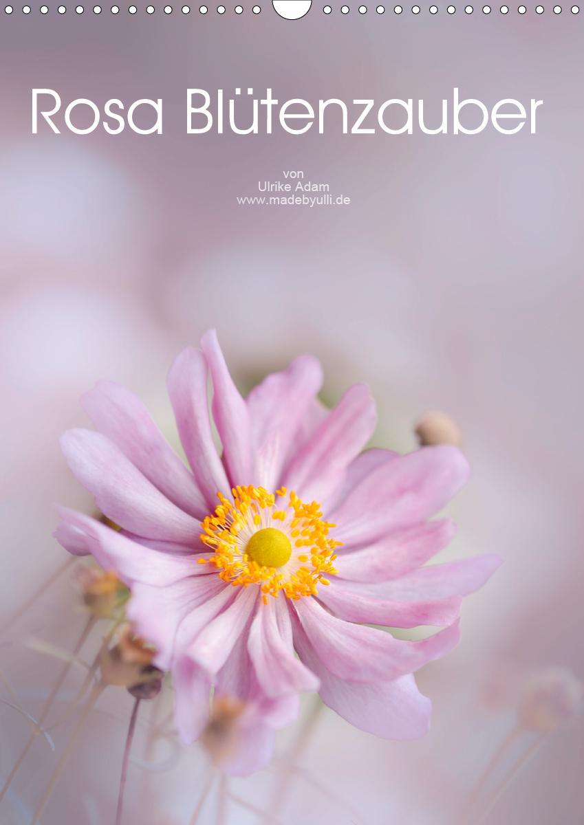 Rosa Blütenzauber (Wandkalender 2021 DIN A3 hoch)
