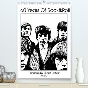 The Greatest Rock \'n Roll Band (Premium, hochwertiger DIN A2 Wandkalender 2022, Kunstdruck in Hochglanz)