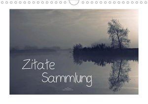 Zitate - Sammlung (Wandkalender 2021 DIN A4 quer)