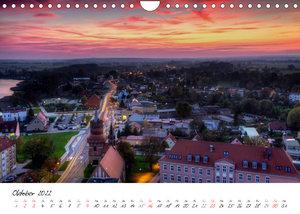 Prenzlau - im Wandel der Jahreszeiten (Wandkalender 2022 DIN A4 quer)