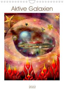 Fremde Galaxien (Wandkalender 2022 DIN A4 hoch)