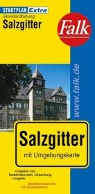 Falk Stadtplan Extra Standardfaltung Salzgitter