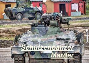Schützenpanzer Marder (Wandkalender 2021 DIN A3 quer)