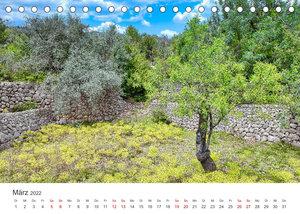 Mallorca Traumhafte Insel (Tischkalender 2022 DIN A5 quer)
