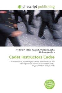 Cadet Instructors Cadre