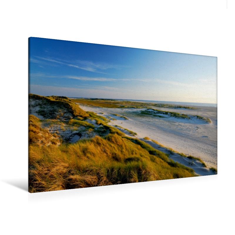 Premium Textil-Leinwand 120 cm x 80 cm quer Amrum