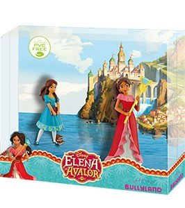 Bullyland 13248 - Geschenk-Set (Elena + Isabel) aus Disney Elena