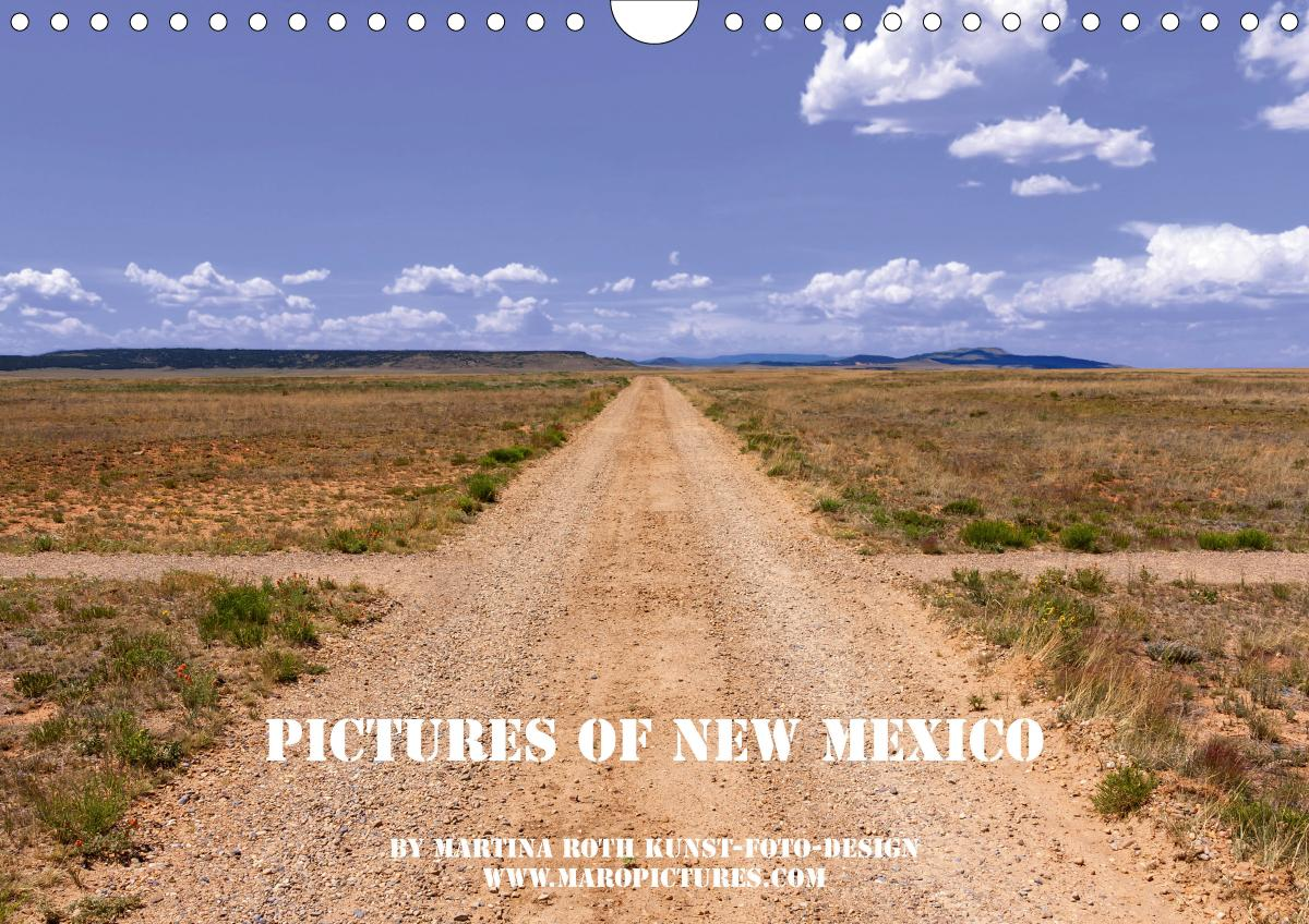 Pictures of New Mexico (Wandkalender 2021 DIN A4 quer)