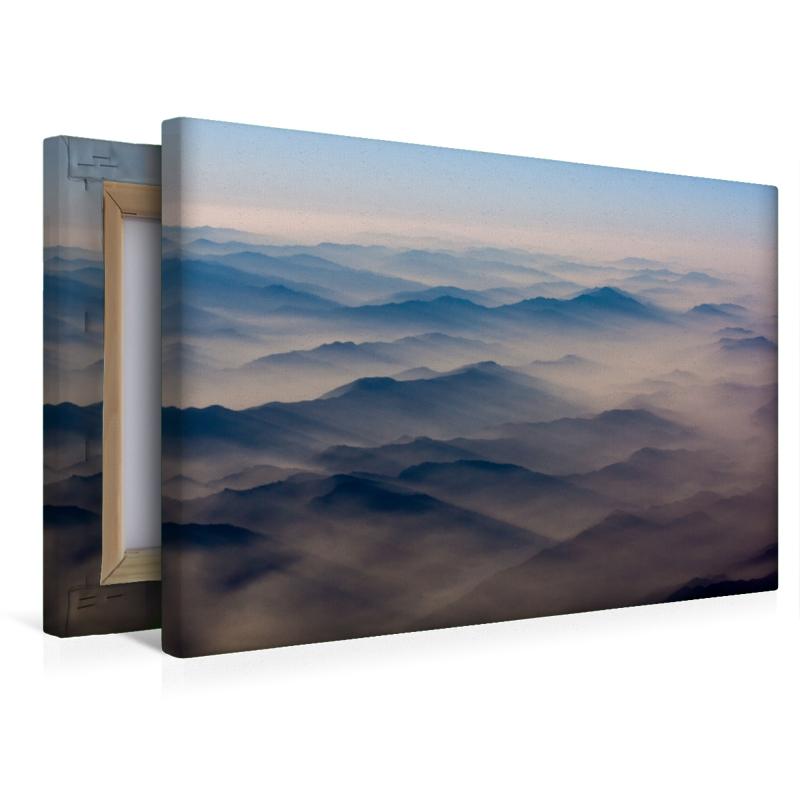 Premium Textil-Leinwand 45 cm x 30 cm quer Myanmar