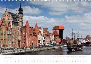 Hafenstädte der Ostsee (Wandkalender 2022 DIN A2 quer)