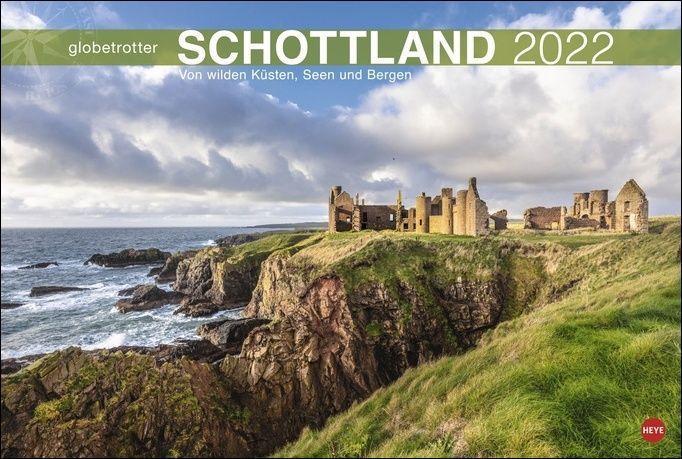 Schottland Globetrotter Kalender 2022