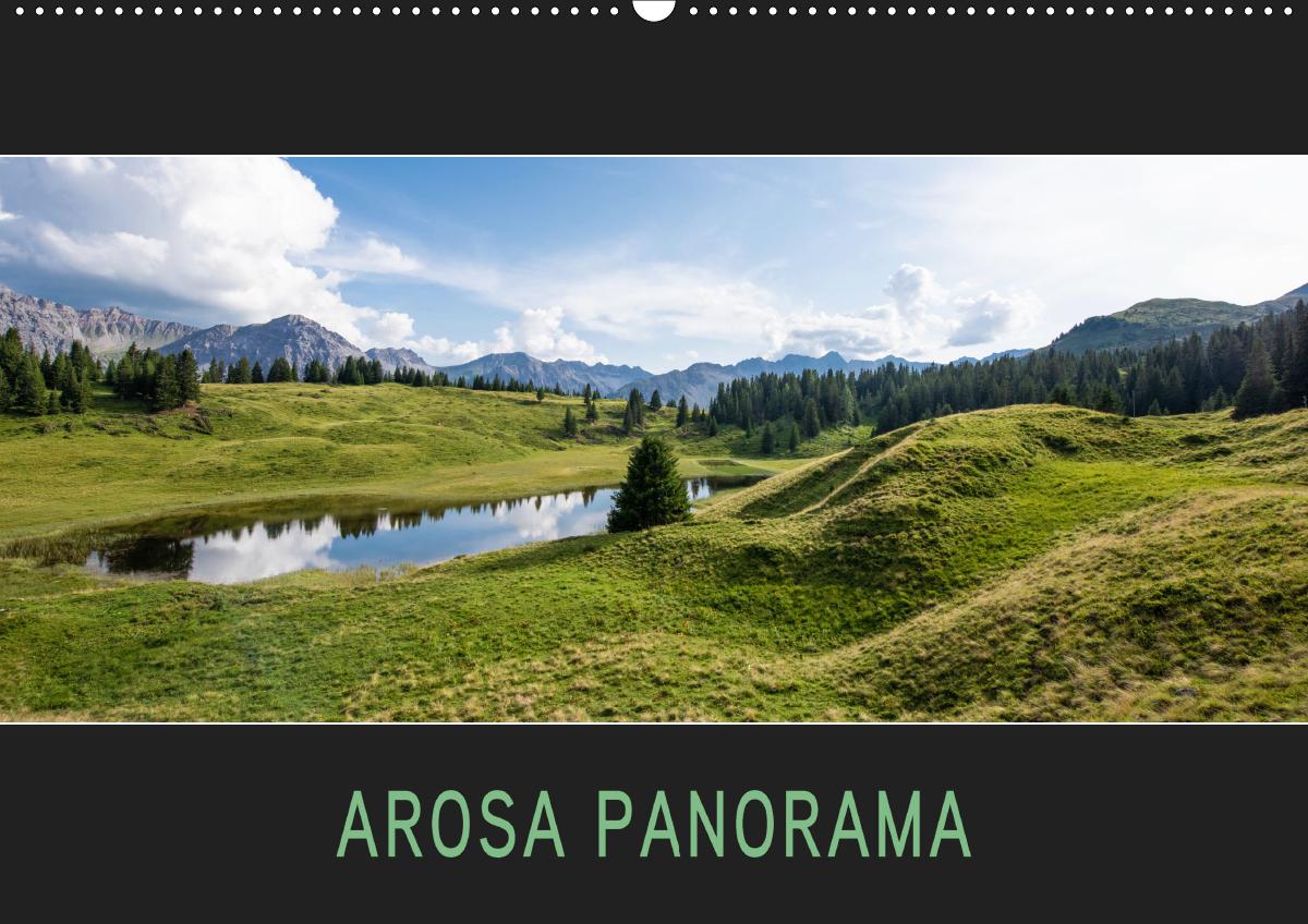 Arosa Panorama (Wandkalender 2021 DIN A2 quer)