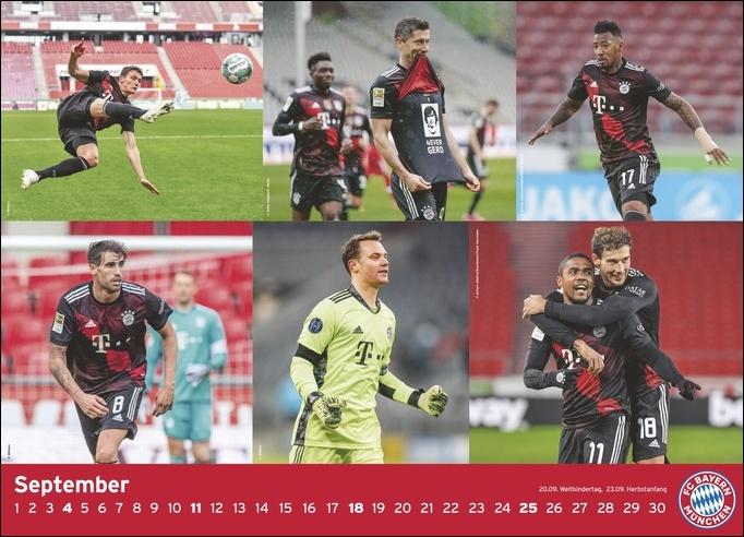 FC Bayern München Edition Kalender 2022