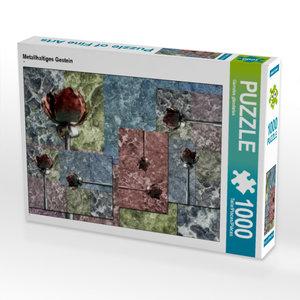 CALVENDO Puzzle Metallhaltiges Gestein 1000 Teile Lege-Größe 64
