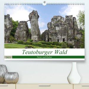 Teutoburger Wald - Natur und Kultur (Premium, hochwertiger DIN A