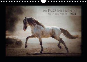 Die Faszinierende Welt der Pferde (Wandkalender 2021 DIN A4 quer