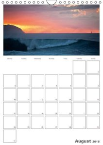 Hawaii - Organizer / UK-Version (Wall Calendar 2015 DIN A4 Portr