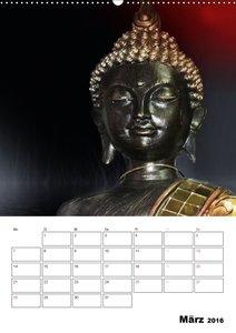 Buddha - Zeit für Entspannung (Wandkalender 2016 DIN A2 hoch)
