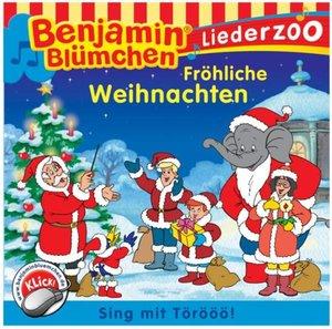 Benjamin Blümchen. Liederzoo. Fröhliche Weihnachten. CD