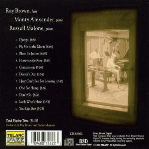 Ray Brown/Monty Alexander/Russel Malone