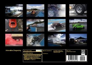 Adrenaline Dragracing (Poster Book DIN A4 Landscape)