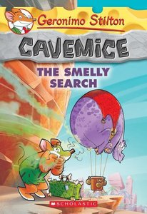 Geronimo Stilton Cavemice 13: The Smelly Search