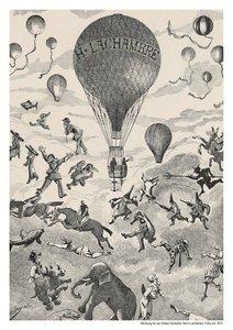 Ballonfahren Posterbuch (PosterbuchDIN A4 hoch)