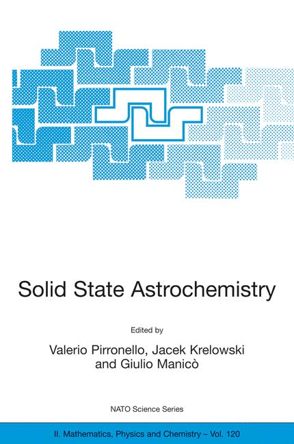 Solid State Astrochemistry - zum Schließen ins Bild klicken