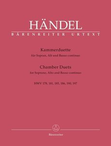 Kammerduette für Sopran und Alt