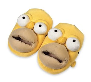 United Labels - 0803868 - Slipper The Simpsons - Homer Simpson,
