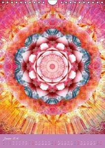 Blühende Mandalas (Wandkalender 2016 DIN A4 hoch)
