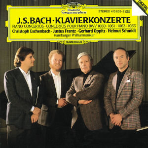 Klavierkonzerte BWV 1060,61,63,65