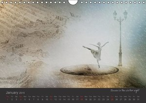 Back in the World of Dreams Surreal Impressions (Wall Calendar 2
