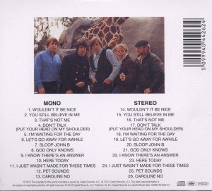 Pet Sounds (Mono & Stereo)