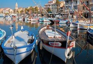 Der Hafen von Sanary-sur-Mer, Frankreich. Puzzle 1500 Teile