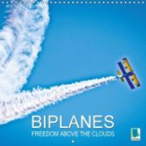 Biplanes: Freedom above the clouds (Wall Calendar 2015 300 × 300