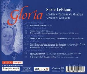 Handel:Gloria/Bach/Vivaldi