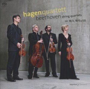 Streichquartette op.18/3,18/5,135