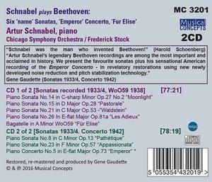 Klaviersonaten mit Titel-Nr.5,8,14,15,21,23