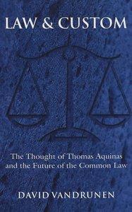 Law and Custom
