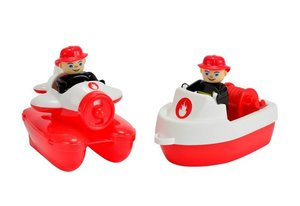 BIG 55133 - Waterplay Fire-Boat-Set